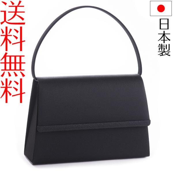 日本製ブラックフォーマルバッグ ジャガード黒 冠婚葬祭 F1