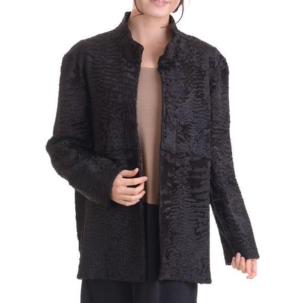 日本製スワカラリバーシブルジャケットコート マロン|auro|06