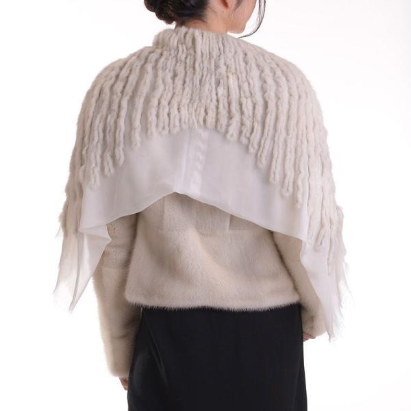 日本製バイオレットミンクジャケットコート y0002ナチュラル auro 04