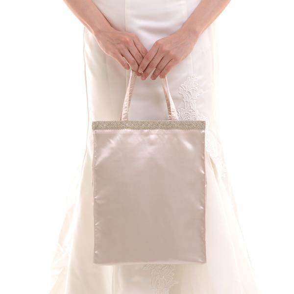サブバッグ サテンパーティーサブバッグ A4相当 パーティーバッグ 結婚式 冠婚葬祭 お受験