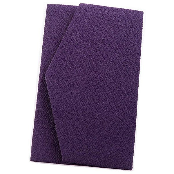 袱紗 ふくさ 結婚式 慶弔両用 日本製 ちりめん 男性用 女性用 紫 おしゃれ|auro|13