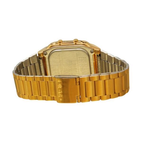 腕時計 カシオ メンズ Casio Men's Gold tone Data Bank Watch DB360G-9A|aurora-and-oasis|02