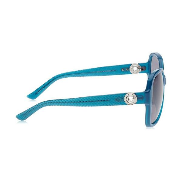 サングラス ゲス レディース Guess Women's Sunglasses, Turquoise Frame, Grey Lens GF0275-5887A|aurora-and-oasis|02