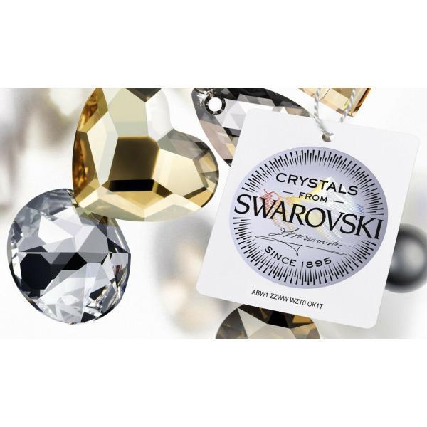 ピアス スワロフスキー シルバーキャット Swarovski Elements Crystal Lucky Cat Pierced Earrings Rhodium Authentic 7151u|aurora-and-oasis|02