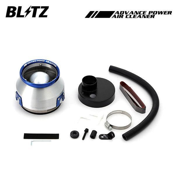 BLITZ ブリッツ アドバンスパワー エアクリーナー フレアワゴンカスタムスタイル MM32S 13/07〜 R06A(Turbo) 2WD、4WD共通