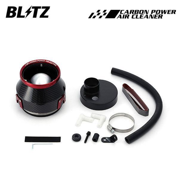 BLITZ ブリッツ カーボンパワーエアクリーナー フレアワゴン カスタムスタイル MM32S 13/07〜 R06A