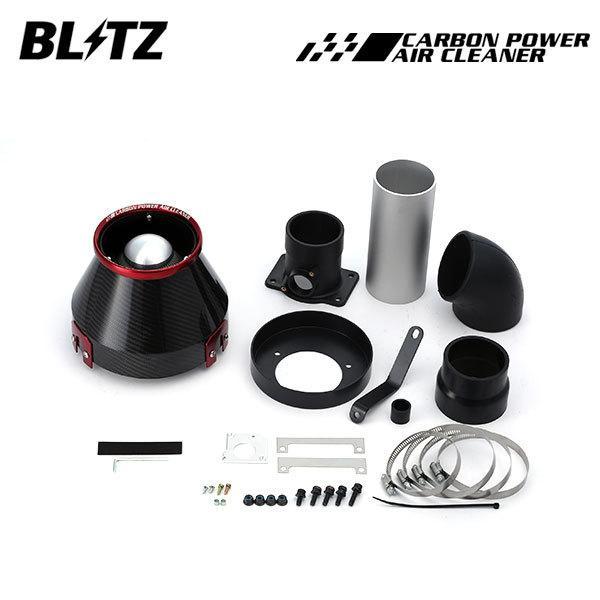 BLITZ ブリッツ カーボンパワーエアクリーナー フォレスター SH5 07/12〜09/01 EJ20