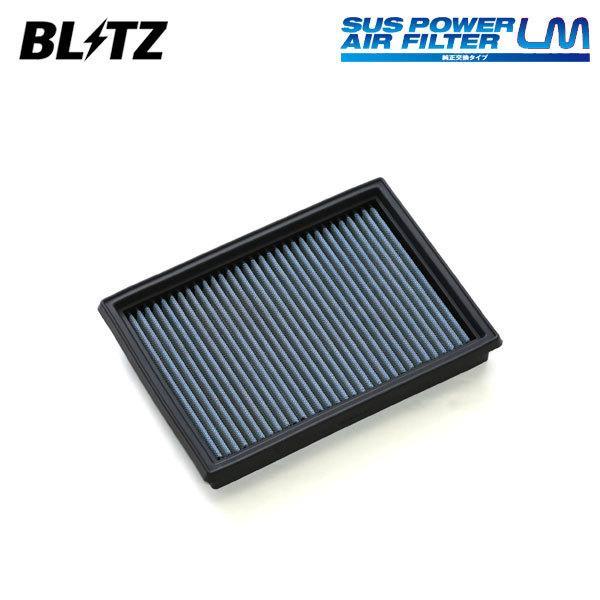 BLITZ ブリッツ サスパワー エアフィルター LM WS-731B  59622 フレアカスタムスタイル MJ44S 15/09〜 R06A+WA04A(NA)