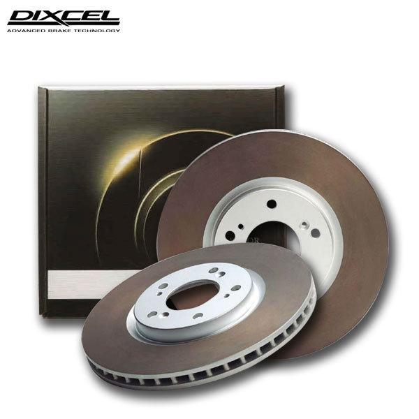 DIXCEL ディクセル ブレーキローター HDタイプ リア用 フォルクスワーゲン コラード 2.0i 16V 509A 88〜95