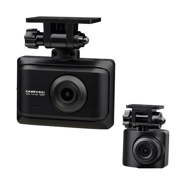 COMTEC ZDR-016 フルHD前後2カメラドライブレコーダー