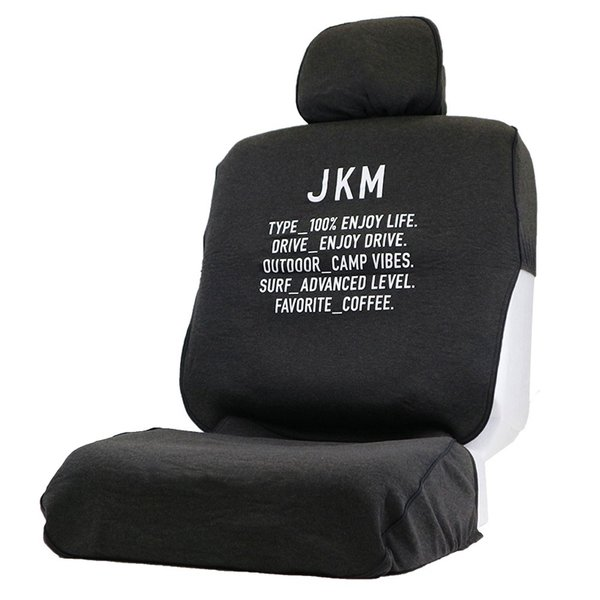JKM アーミー 前席用シートカバー ダークグレー|autobacs
