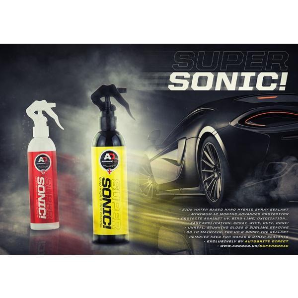 英国製 Autobrite Direct スーパーソニック 超撥水 ガラスコーティング剤 洗車|autobritedirect|02