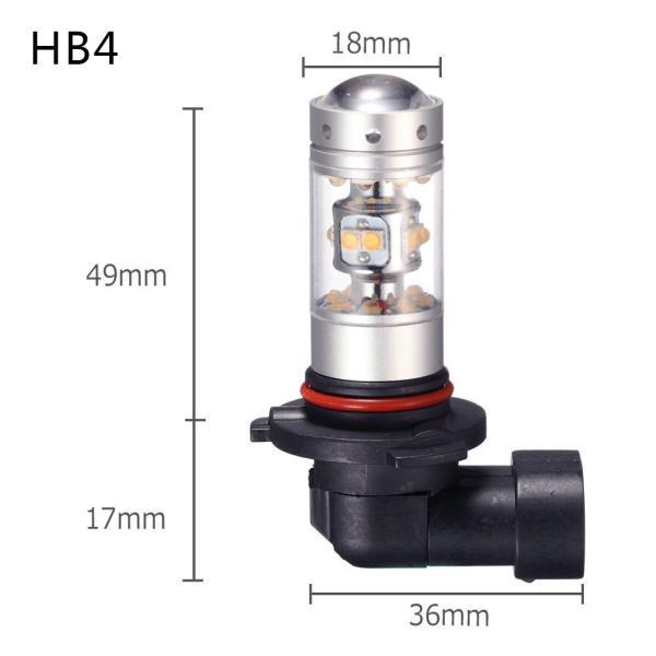 LED フォグランプ 140W SHARP製 H8/H11/H16/H7/HB3/HB4 2個セット 12V対応 無極性 LEDバルブ ホワイト
