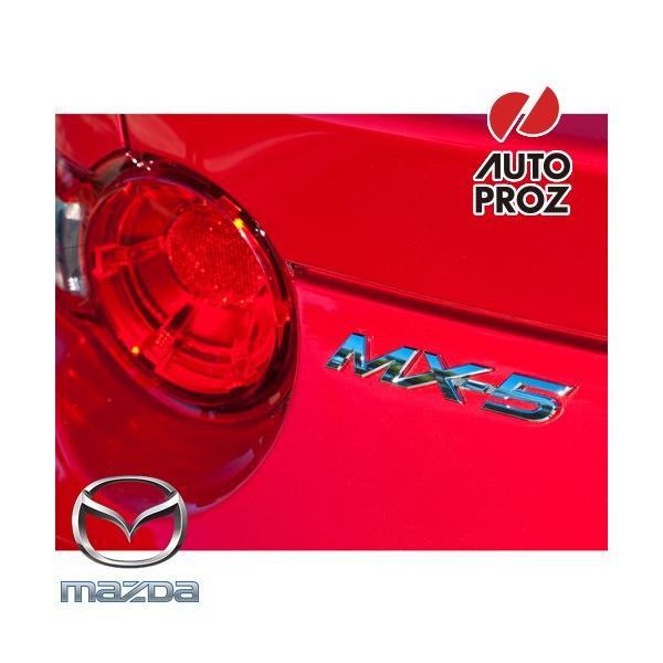 """USマツダ・直輸入純正品 Mazda ロードスターND型 RFにも適合 北米名""""MX-5"""" リアエンブレム"""