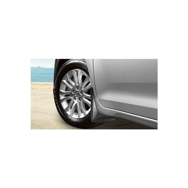 USトヨタ・直輸入純正品 Sienna シエナ 現行モデル SE用 マッドガード/スプラッシュガード 泥除け 4ピース