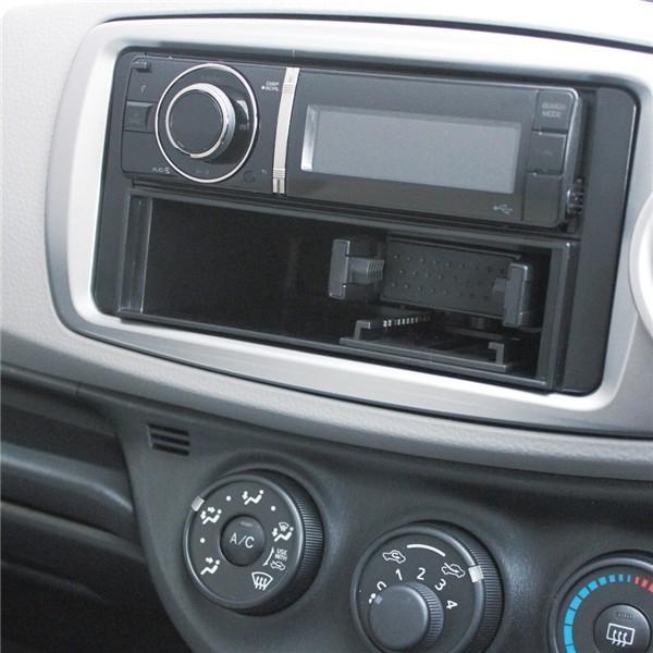 ヤック DIN BOX OP スマホホルダー VP-D1フリータイプ専用 回転 角度調整 収納できる マルチホルダー VPD10|autorule|03