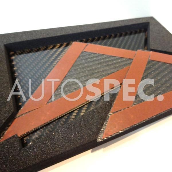 ABARTH アバルト カーボン ピラー パネル 500 500c 595 595c 695 595 シリーズ4 THREEHUNDRED 即日発送 Aピラー New autospecy-store 03