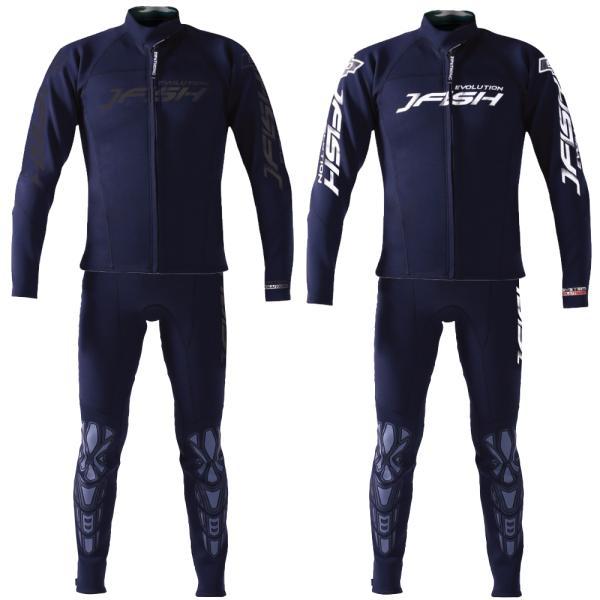 ウエットスーツ メンズ 2ピース ロングジョン マリンスポーツ J-FISH (ジェイフィッシュ) エボリューション ウェットスーツ