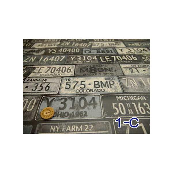 LIG-10520【ラミネート】ビンテージアメリカンナンバープレートラミネート加工(つや消し)◆◆(数量×50cm)【C2-6】U1.5 M1|avail-komadori|04