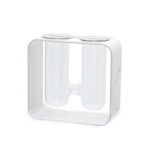 カミハタ グラスアクアリウム ジェメリ ホワイト|avaler