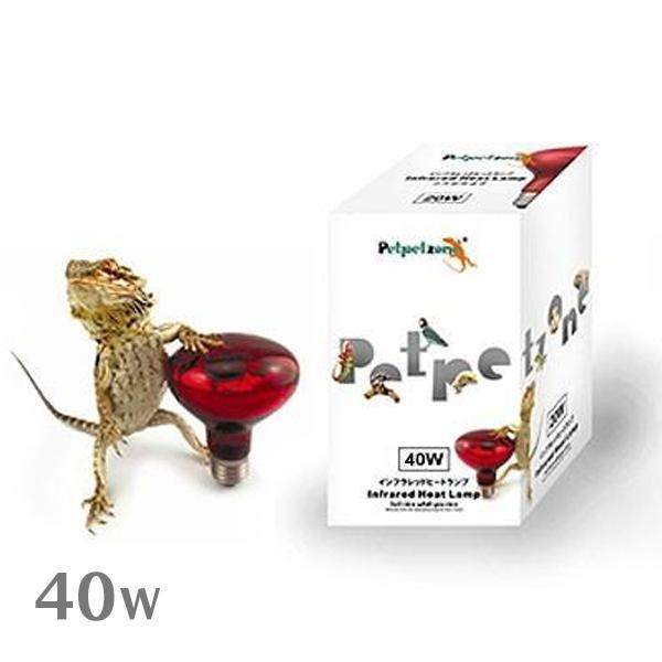 ゼンスイ インフラレッドヒートランプ 40W 『爬虫類 ランプ』
