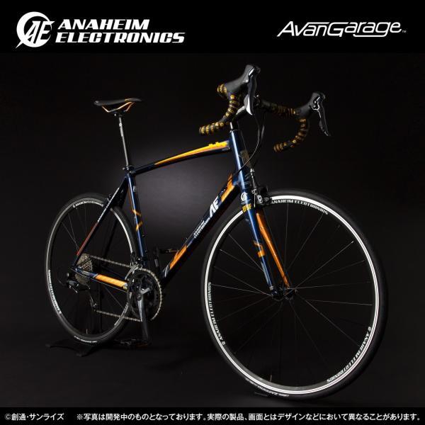 【2018年7月納品】AE社製 ユニコーンガンダム2号機 バンシィ ロードバイク(アルミフレーム)|avangarage|02