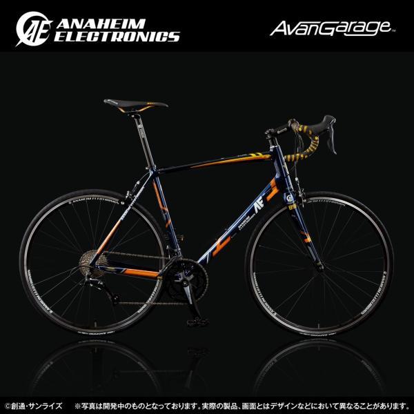 【2018年7月納品】AE社製 ユニコーンガンダム2号機 バンシィ ロードバイク(アルミフレーム)|avangarage|03