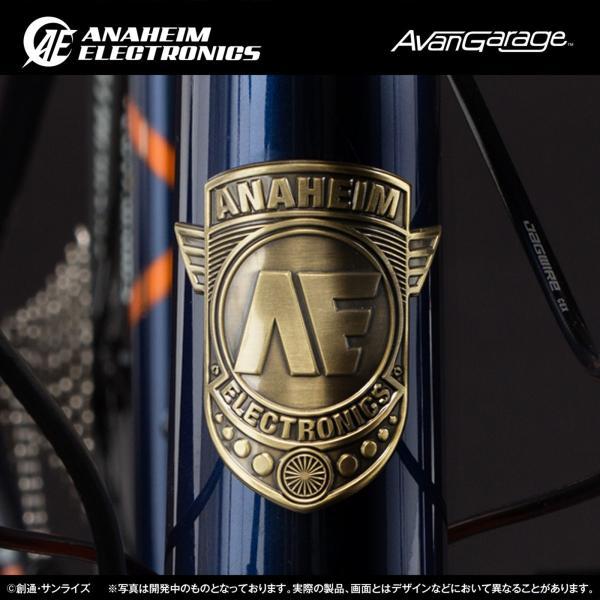 【2018年7月納品】AE社製 ユニコーンガンダム2号機 バンシィ ロードバイク(アルミフレーム)|avangarage|04