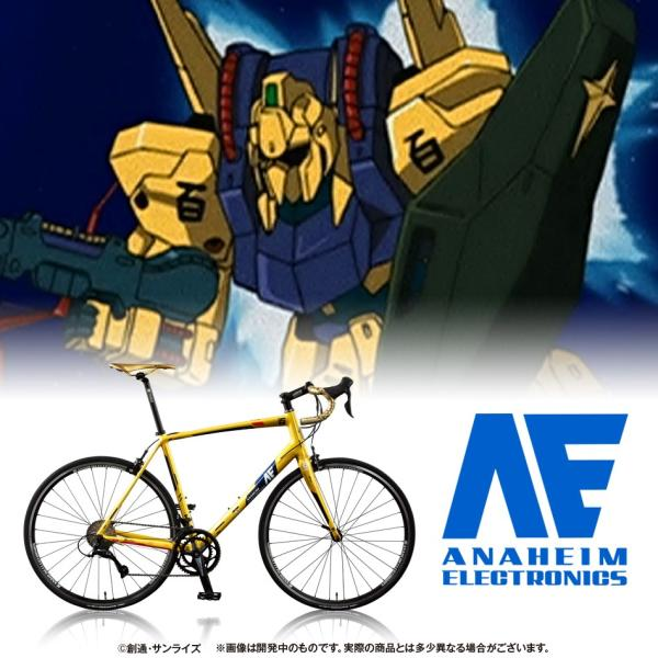 【2018年7月納品】AE社製 百式 ロードバイク(アルミフレーム)|avangarage