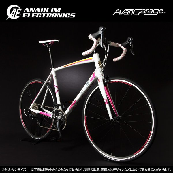 【2019年1月納品】AE社製 ユニコーンガンダム ロードバイク(アルミフレーム)|avangarage|02