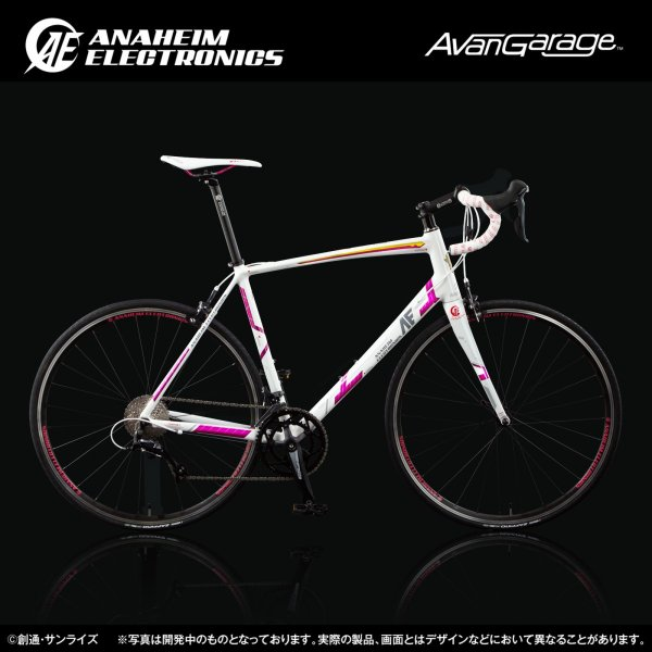 【2019年1月納品】AE社製 ユニコーンガンダム ロードバイク(アルミフレーム)|avangarage|03