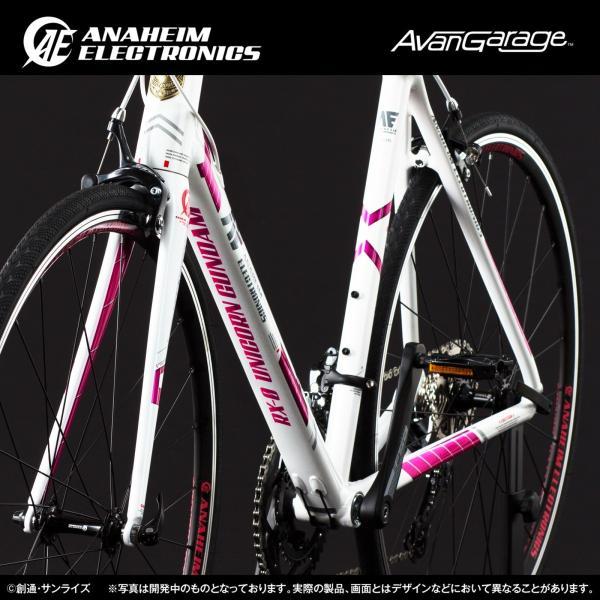 【2019年1月納品】AE社製 ユニコーンガンダム ロードバイク(アルミフレーム)|avangarage|07