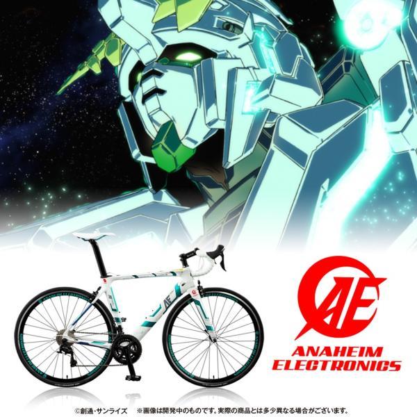 【2019年1月納品】AE社製 ユニコーンガンダム ロードバイク(カーボンフレーム)|avangarage