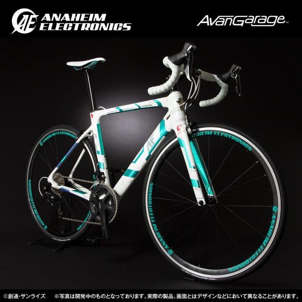 【2018年9月納品】AE社製 ユニコーンガンダム ロードバイク(カーボンフレーム)|avangarage|02
