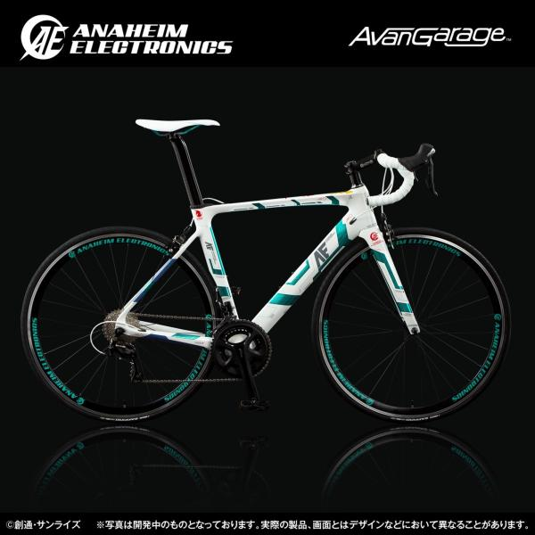 【2018年9月納品】AE社製 ユニコーンガンダム ロードバイク(カーボンフレーム)|avangarage|06