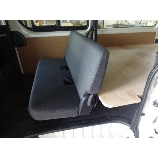 トヨタ ハイエースDX 200系 ベットキッド ベットキット ビジネストランポ 棚キット フロアキット フロアパネル パネル 板 棚 収納 内装 床貼 荷室 床キット 荷室キット
