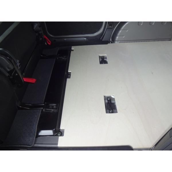 日産 NV200 バネット VANNET フロアパネル 【5人乗り用】 パネル 床張り 床貼 収納 内装 フロアキット フロアマット 荷室 荷台 荷物 荷室キット avanzar-luxstyle 03