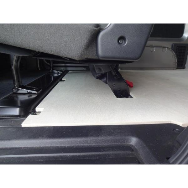 日産 NV200 バネット VANNET フロアパネル 【5人乗り用】 パネル 床張り 床貼 収納 内装 フロアキット フロアマット 荷室 荷台 荷物 荷室キット avanzar-luxstyle 04