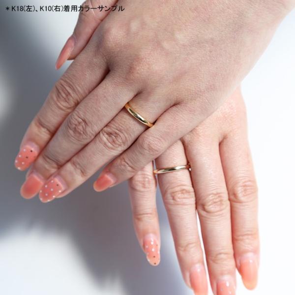 リング 指輪 リボン ダイヤモンド レディース k10 10k 10金 k18 18k 18金 ゴールド 女性 細身 ギフト プレゼント 「Marie Ring」