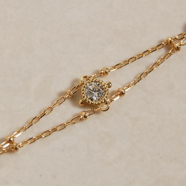 ブレスレット クラシカル ダイヤモンド レディース ダイヤ 18k 18金 K18 女性 ギフト プレゼント 「Dulles」