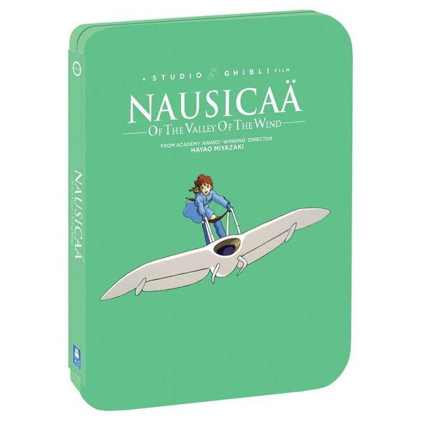 風の谷のナウシカ劇場版スチールブックBD+DVD117分収録北米版