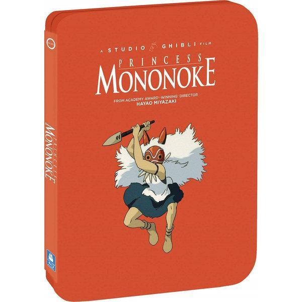 もののけ姫劇場版スチールブック版BD+DVD133分収録北米版