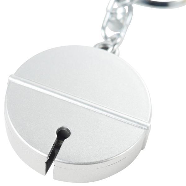紛失防止タグ 電子鈴(加速度センサーで落下検出) DS-01S(銀色) キーホルダー 紛失防止対策|avekt|05
