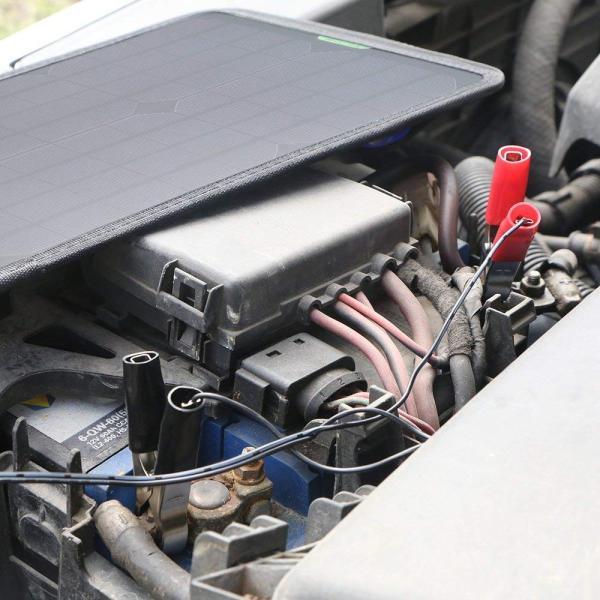 送料無料 カーソーラーチャージャー 18V10W ソーラーパネル 自動車/オートバイ/トラクター/ボート用ソーラーバッテリー ACR-129a|avenir7|08