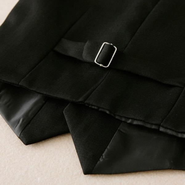 eacbd8da995f5 ... 送料無料 ベスト イギリス風 男の子 男児 ジュニア フォーマル キッズ服 子供服 無地 ノースリーブ 袖
