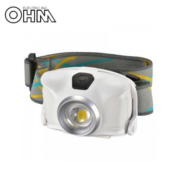 OHM LEDヘッドライト ホワイト LC-SYW1-W