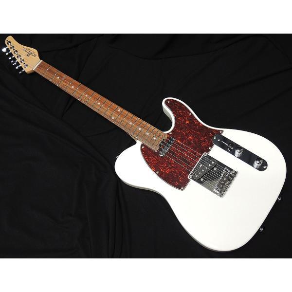 SCHECTEROL-TLWHTシェクターテレキャスタータイプオリジナルシリーズホワイトエレキギター