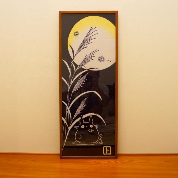 手ぬぐい額 チーク・淡路島の額縁職人が全て手作業で製作した純国産の木製の額縁|awajigaku