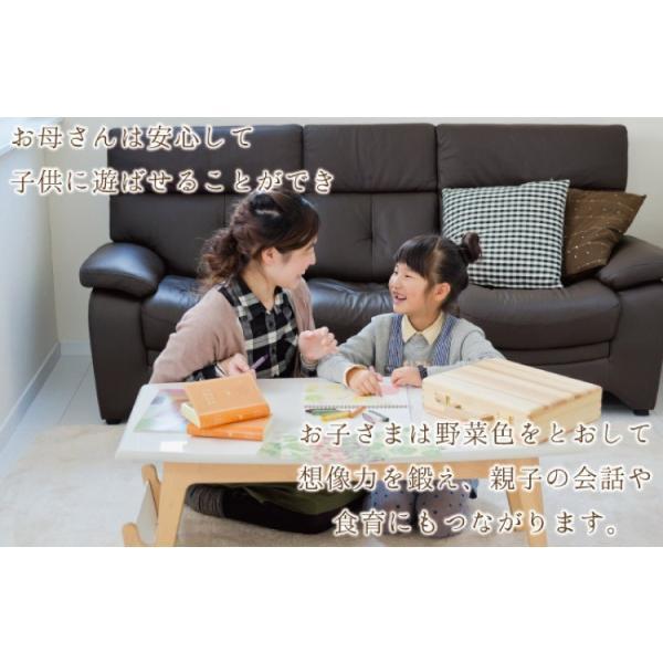 クレヨン 安全 子供 食べても大丈夫 おやさいクレヨン Standard 10色 mizuiro プレゼント 誕生日 二歳 三歳 四歳 入園 入学 ラッピング 送料無料|awajikodawari|14