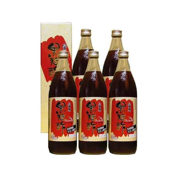 八重泉 黒麹酢 900ml 6本セット